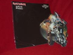 infinite dreams - live - vinyl picture disc - single - release 1989