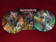 maiden england '88 - vinyl picture disc - album - release 2013